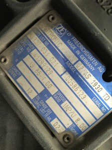 cambio Stralis 420  ZF 12 AS 1930 TD   1327 031 021 Iveco 41299129